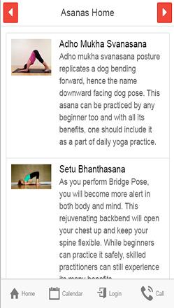 your yoga studio classes schedule app  check out trial app